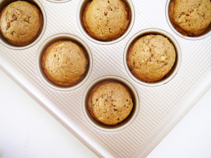 Banana Honey Breakfast Muffins
