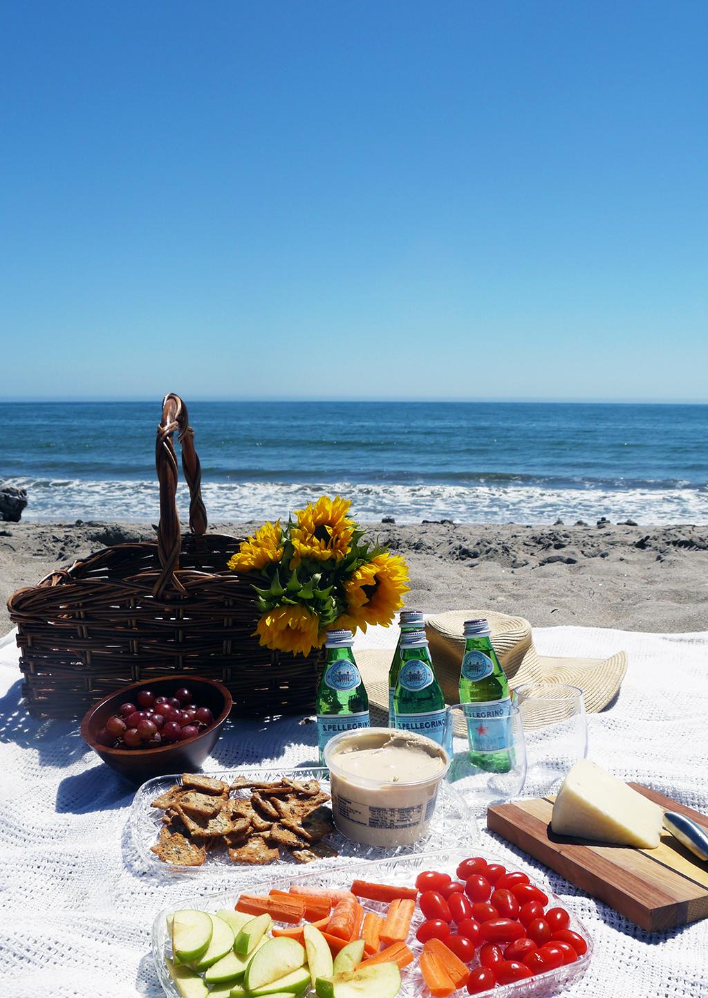Healthy Beach Picnic