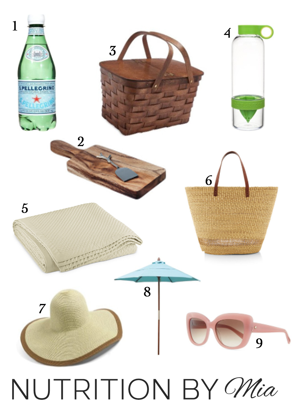 Healthy Beach Picnic Checklist and Essentials