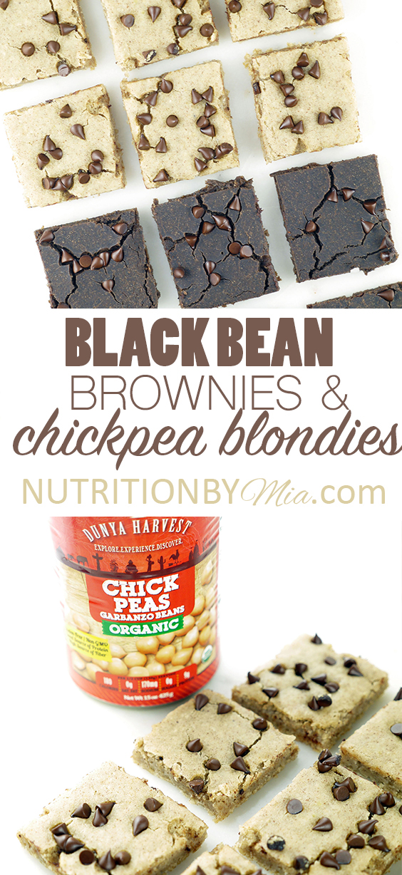 Dunya Harvest Black Bean Brownies and Chickpea Blondies