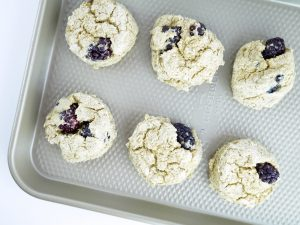 Blackberry Breakfast Cookies