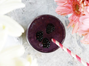 Blackberry Protein Smoothie and Protein Debunked