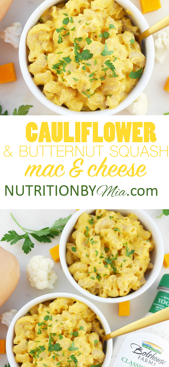 Bolthouse Farms Dressing Cauliflower and Butternut Squash Mac and Cheese