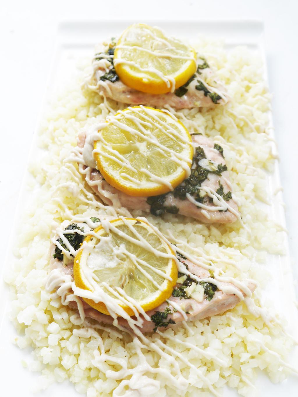 Lemon Tahini Chicken