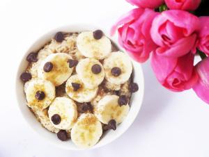 Banana Chocolate Chip Oatmeal