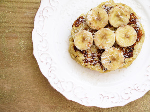 Coconut Cake Pancake