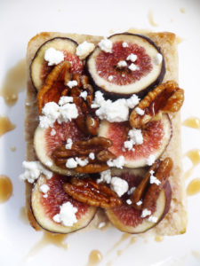 Fig Feta Toast and 5 Ways to Sneak in More Veggies