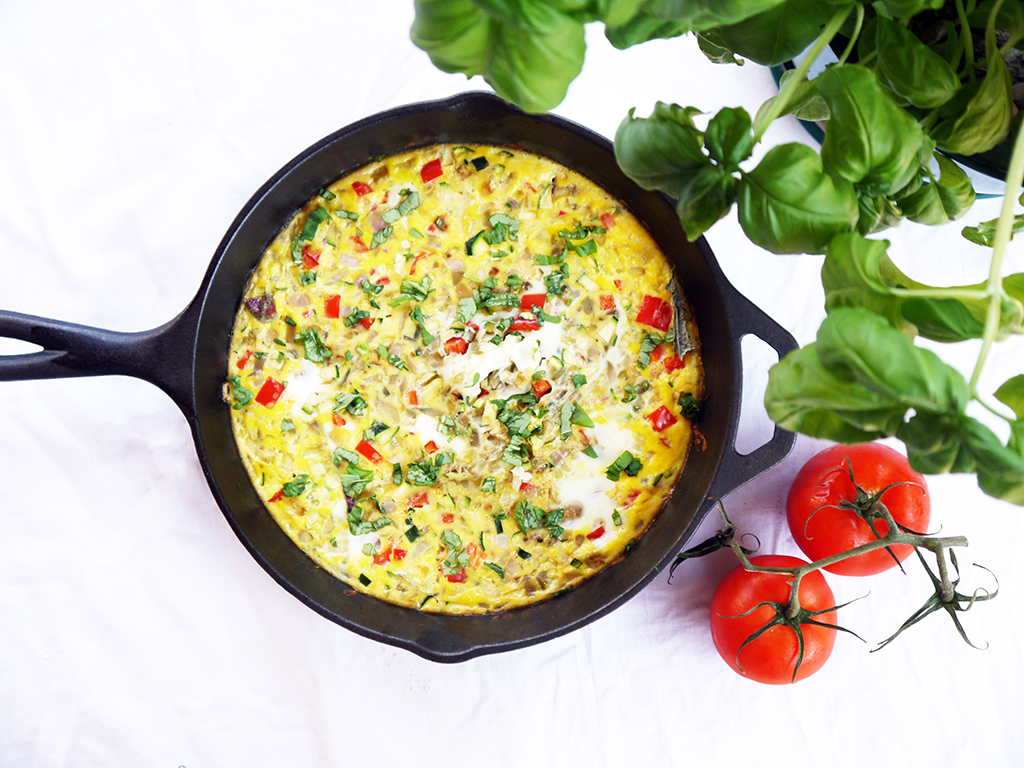 Summer Vegetable Fritatta