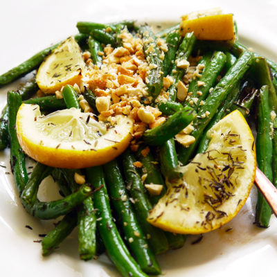 Almond-crusted Green Beans