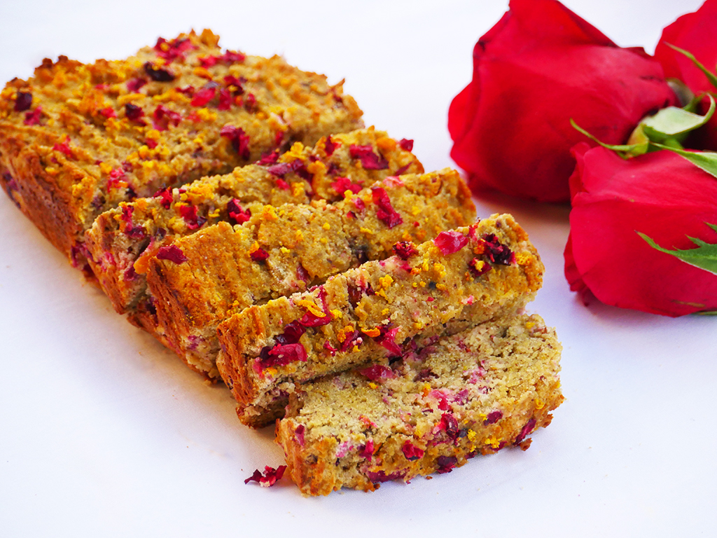 Cranberry and Orange Zest Loaf
