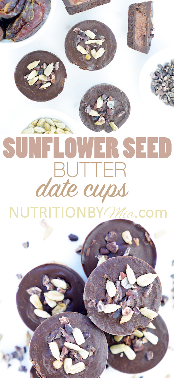 Natural Delights Medjool Dates Sunflower Butter Date Cups