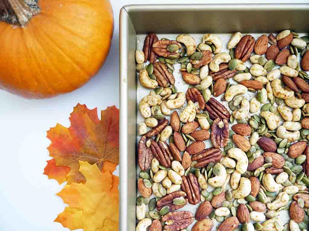 Pumpkin Spice Nuts