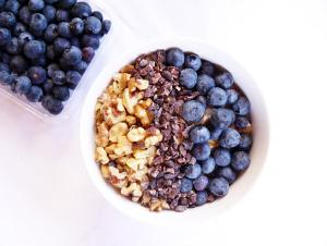 Blueberry, Walnut, Cacao Oats
