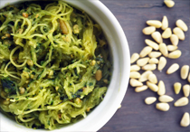 Kale and Basil Pesto (dairy-free)