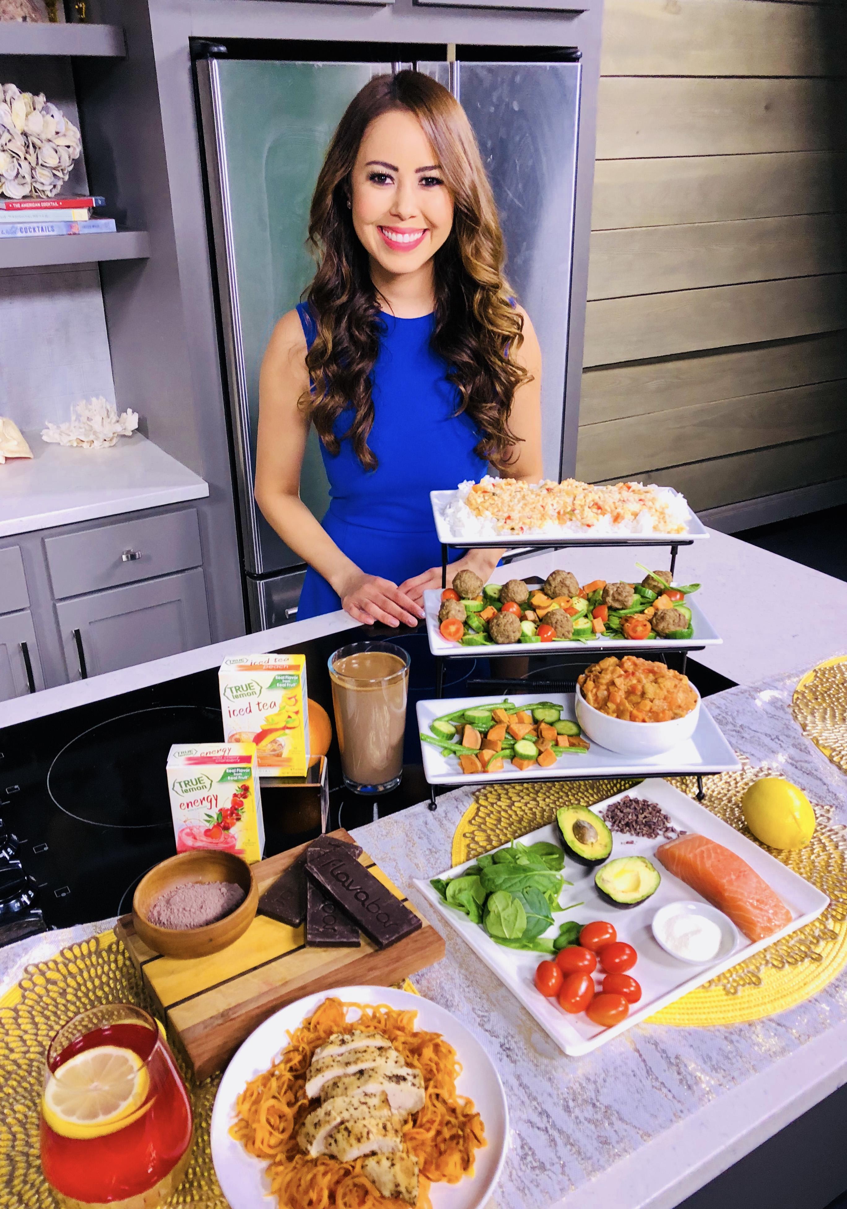 TV Dietitian Nutritionist Mia Syn ABC True Lemon, Beetnik, Super Collagen Neocell, FlavaNaturals