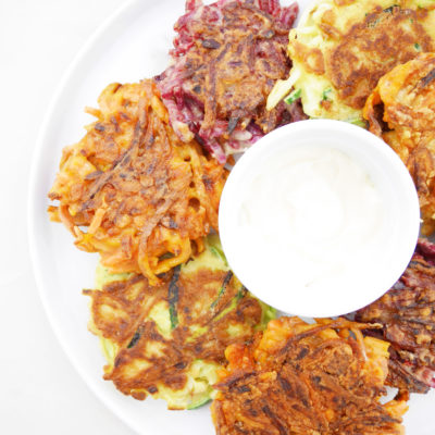 3-Ingredient Veggie Noodle Fritters