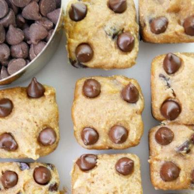 Chocolate Chip Banana Squares