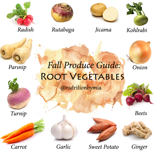 Fall Produce Guide: Root Vegetables