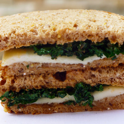 Grilled Cheese Kale Sandwich