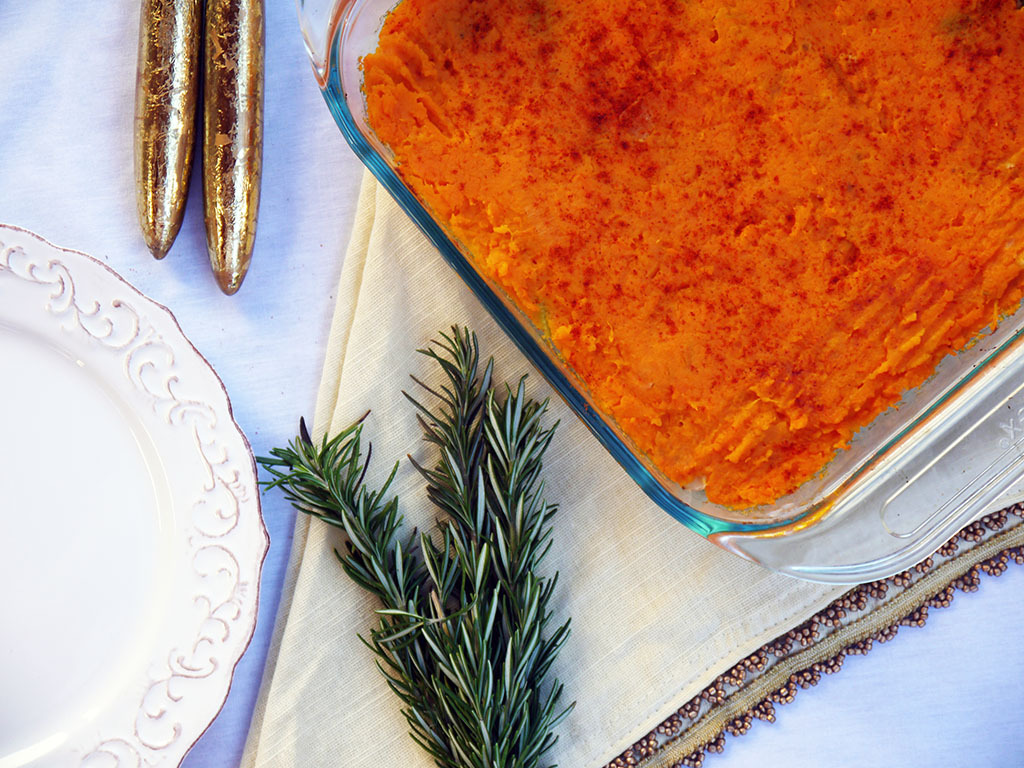 Sweet Potato Sheperd's Pie