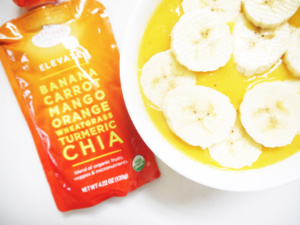 Tropical Mango Banana Smoothie with Shine Organics