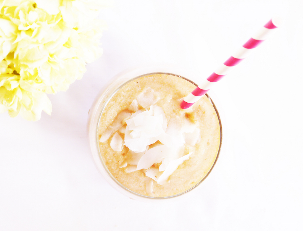 #Summersmoothie Series: Coconut and Papaya Smoothie