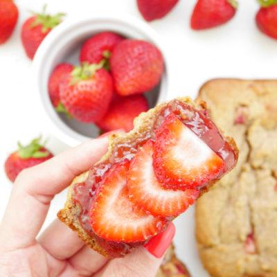 Mini Strawberry Loaf