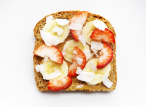 Coconut Strawberry Toast and Managing Sugar Cravings