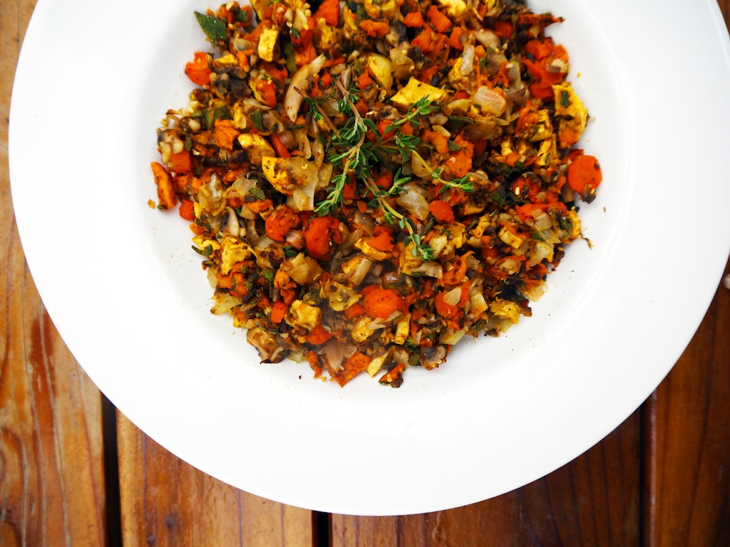 Veggie and Herb-based Stuffing