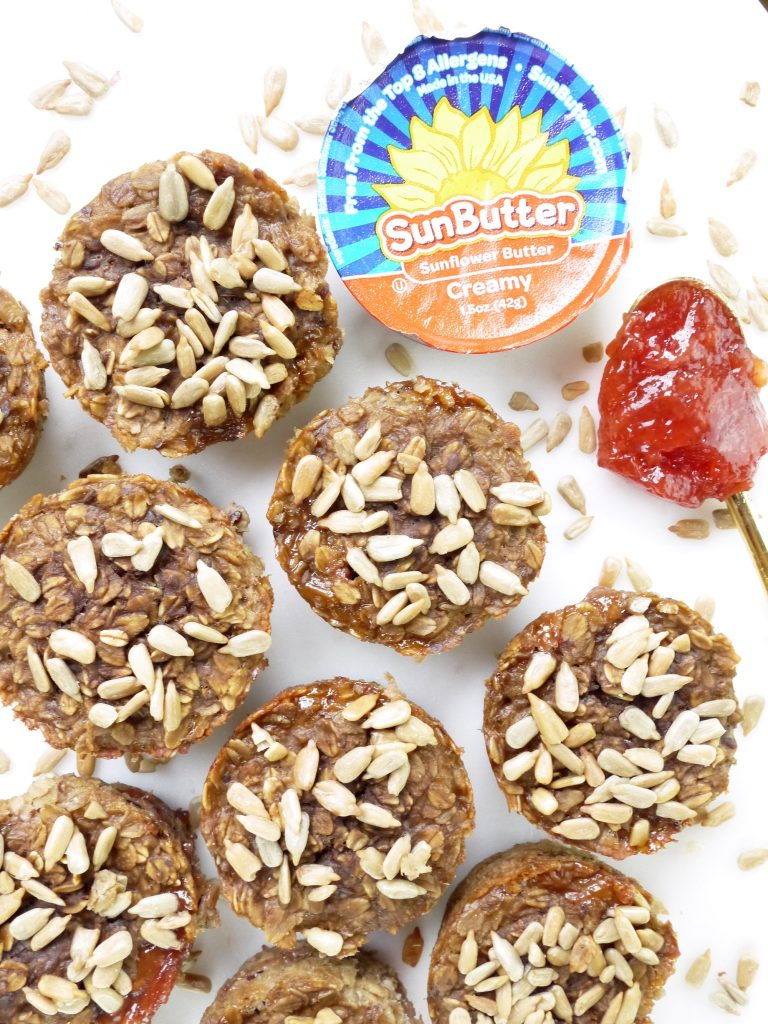 SunButter and Jelly Muffins