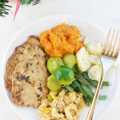 Plant-Based Holiday Menu
