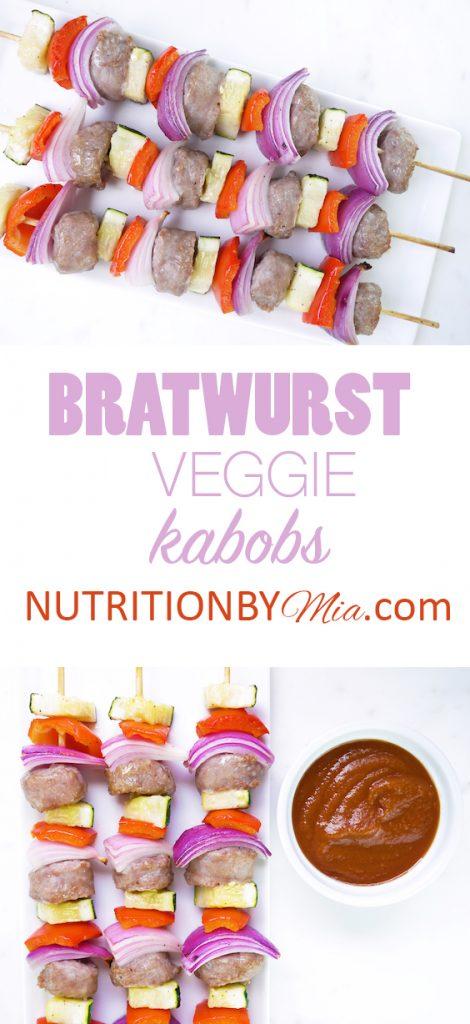 Veggie Bratwurst Kabobs Smithfield